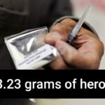 Cops seize 43.23 gms of suspected heroin